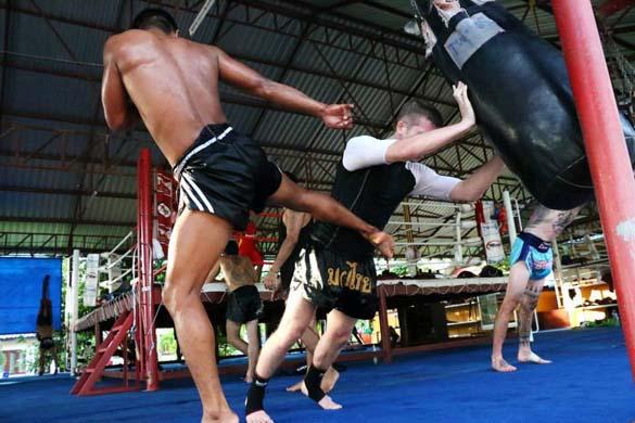 Школы тайского бокса в тайланде