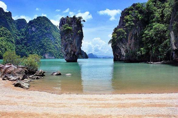 Фото остров джеймса бонда в тайланде фото
