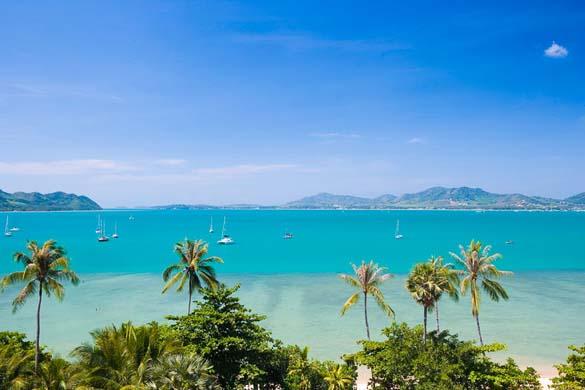Какое море в тайланде паттайя